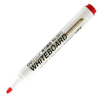 得力6817单头白板笔 易擦拭水性白板写字笔展示板笔超高性价 正品