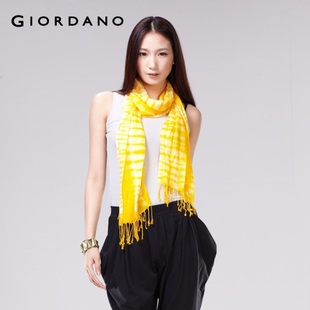 Special offer summer Giordano ladies ' temperament flow Su Si seconds to kill sliding scarf 01581029