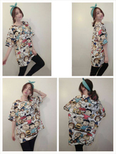 Chel shopkeeper recommend 2015 spring printing commuting to restore ancient ways small lovely 5 minutes of sleeve loose render unlined upper garment