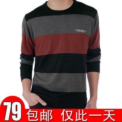 [今日特价] 秋季新款中年男士长袖t恤桖圆领薄款体恤中老年男装秋衣上衣男衫