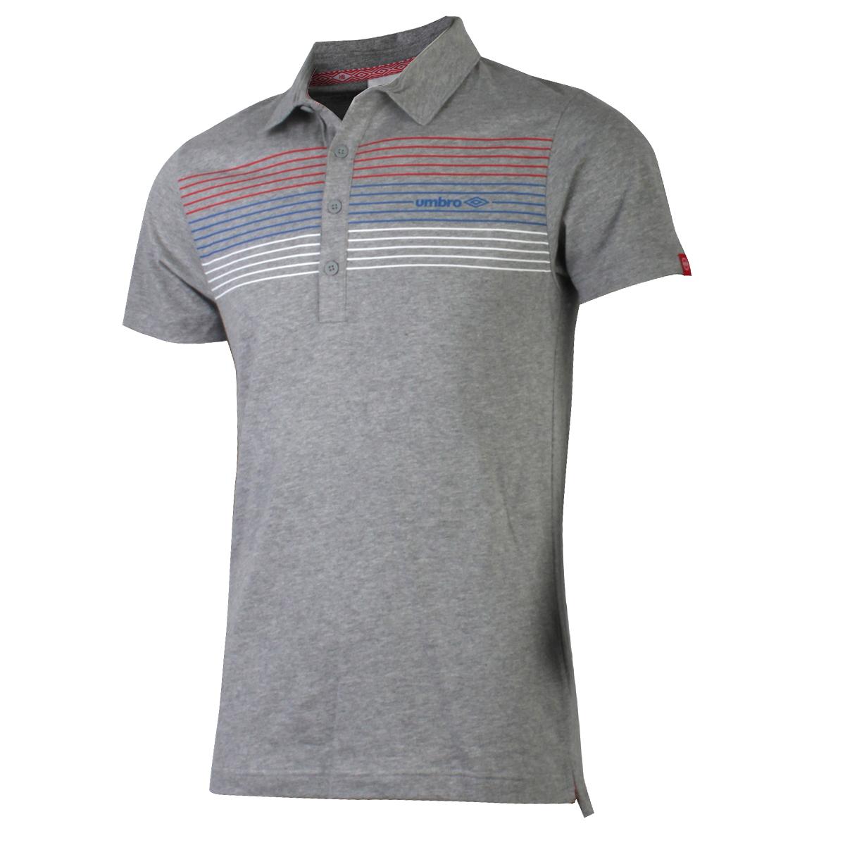 Спортивная футболка UMBRO 113402028 Polo Свободный Воротник-стойка Короткие рукава ( ≧35cm ) 100 хлопок Бег Влагопоглощающие, Ультралегкие, Воздухопроницаемые % Логотип бренда