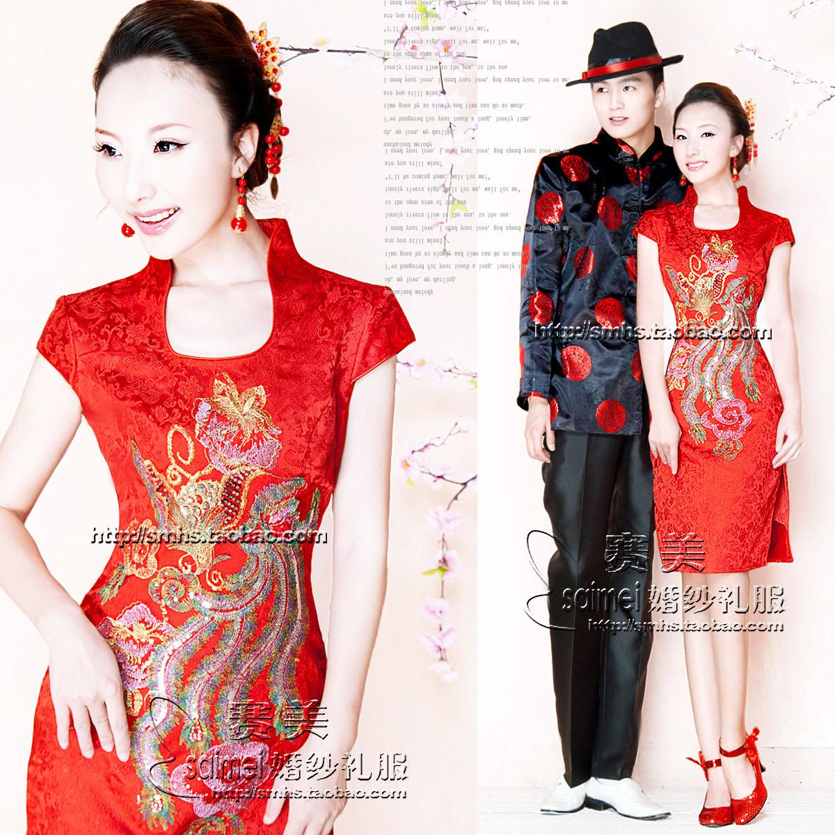 Платье Ципао Semicon wedding gz1626
