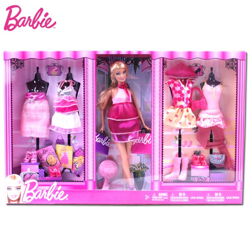 炫动酷地带 芭比 正品 Barbie 芭比 礼盒套装T3573芭比娃娃 2011