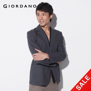 Special second kill Giordano summer leisure suit Jacket Men's urban simple 01071011