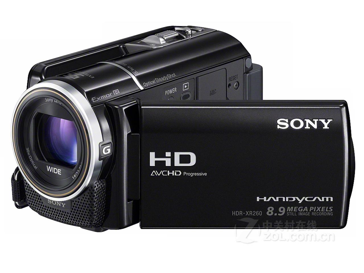 拍下立减100元+返现 Sony/索尼 HDR-XR260E 正品行货 高清摄像机