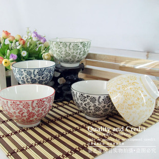 New products Specials $ 25 Jingdezhen ceramic tableware set, and  wind set to  colour bowl [Hui mass Lyceum]