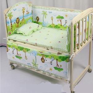 >厂家正品实木无油漆bb摇篮床好孩子必备可变童床书桌宝宝婴儿床
