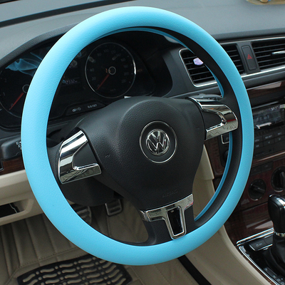 Silicone car steering wheel cover to cover Lavida new Santana Bora Jetta Sagitar Tiguan Cruze Fox