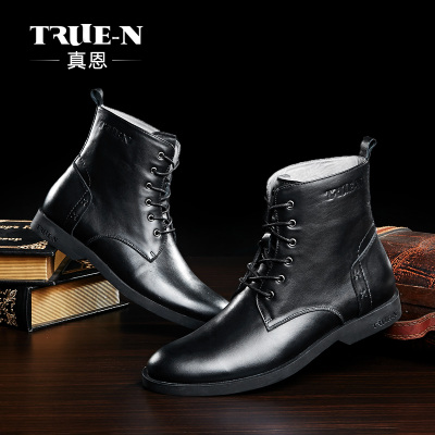 Well really personalized leather men boots men leather boots Martin boots male boots lace boots genuine British