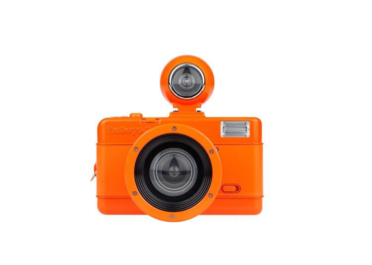 Специальная камера LOMO Fisheye No. Package-vibrant Orange, купить в интернет магазине Nazya.com