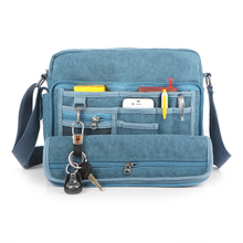 Explosive han edition version of its 2014 multi-function male bag canvas bag shoulder bag inclined bag, men's and women's leisure the sell like hot cakes