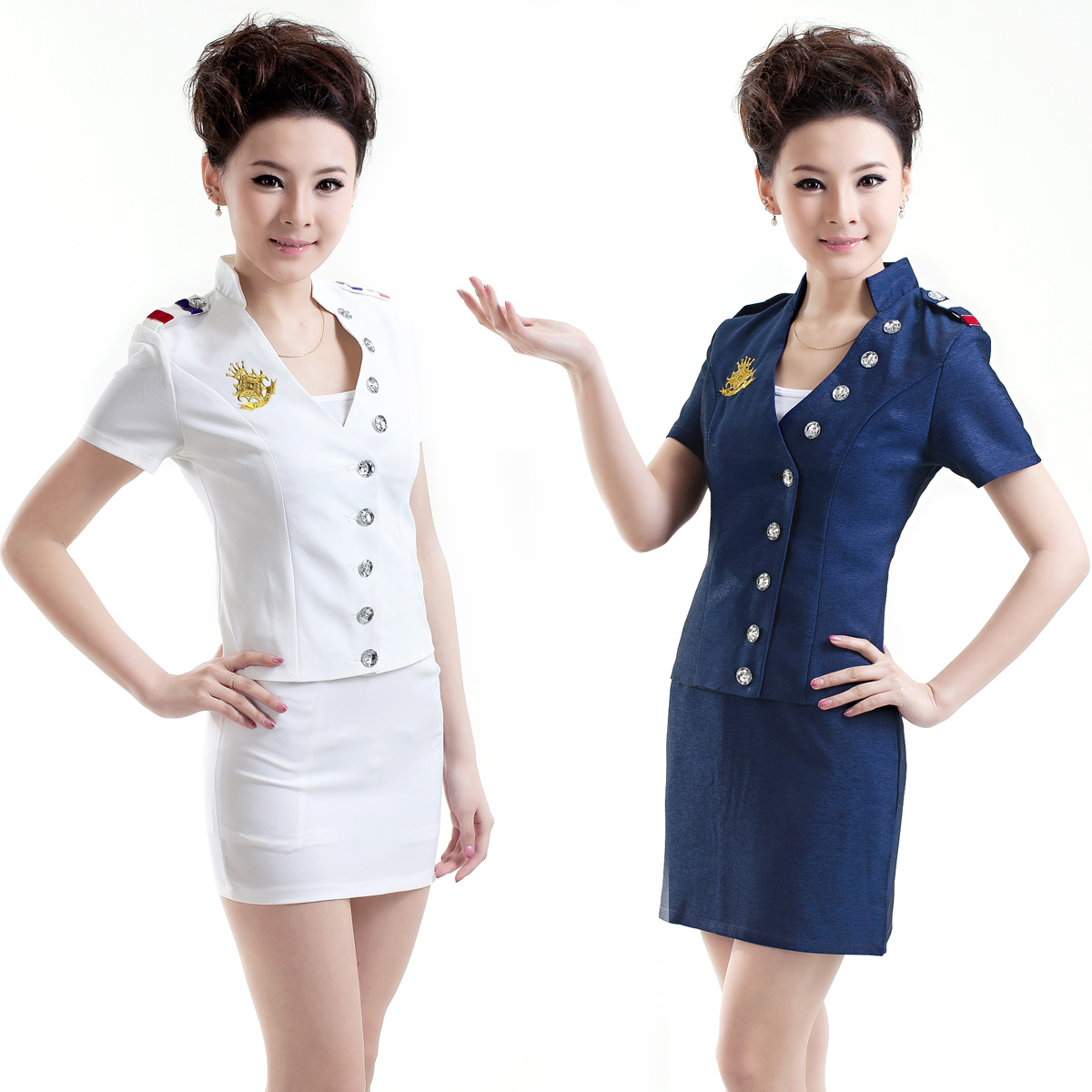 Hotel uniforms create a professional environment for Spa employee uniform