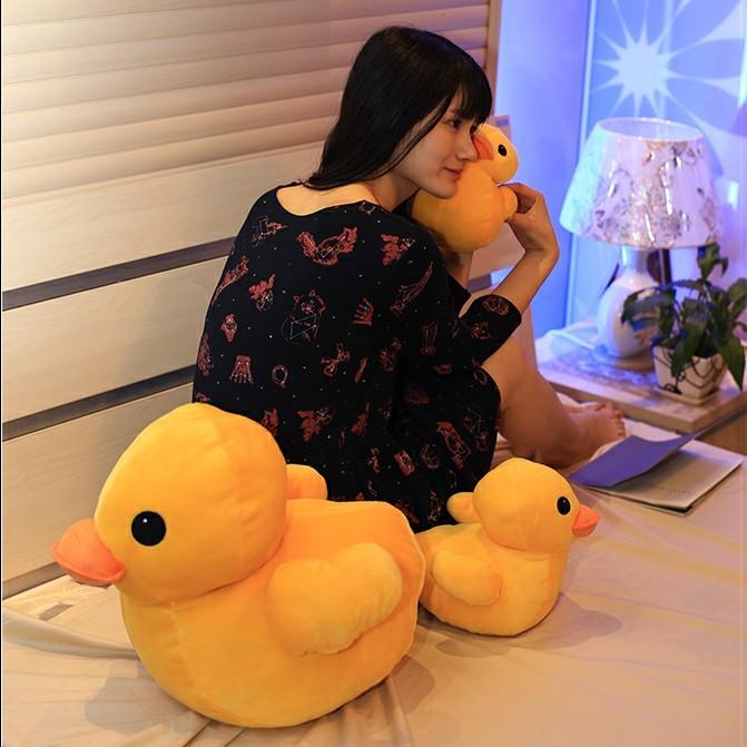 香港大黄鸭毛绒公仔儿童玩具 小黄鸭玩偶鸭子抱枕生日情人节礼品