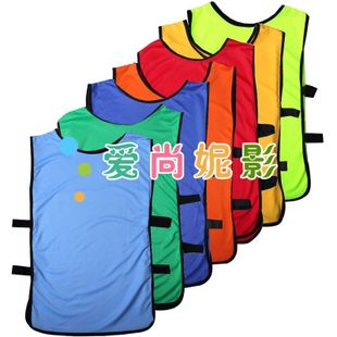 New child group football training vest polyester Ridge, group of women students fight clothing