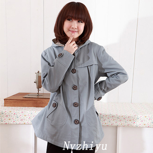 Female Royal New Korean women autumn coat of maternity dresses fall/winter jacket women winter clothes coat 11,086