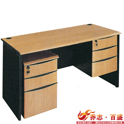 Qiaozhi Parkson simple plate Taiwan desk computer desk fashion book deals with the cabinet table QZ-AB22