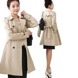 韩版休闲大衣女式风衣