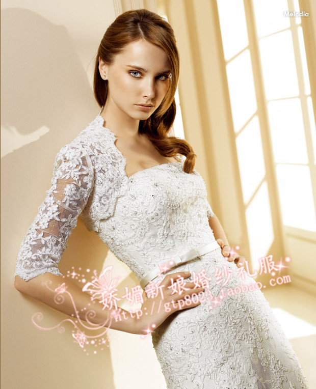 2013夏季蕾丝披肩 结婚季白色蕾丝外套 婚纱礼服披肩 薄透披肩夏装