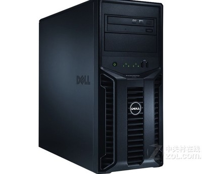 戴尔/dell T110 II E3-1220/2GB/500GB/塔式5U/服务器