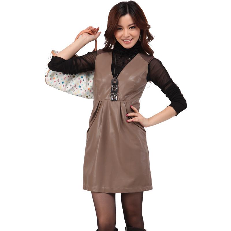 Кожаная куртка Lang Xian 214 2013 Pu