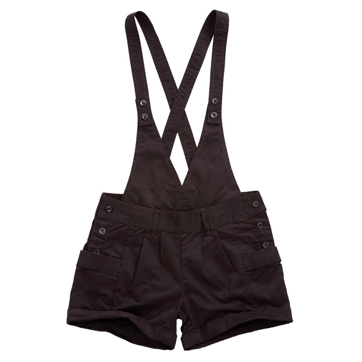 Женские брюки Yishion 10220533 2011 Шорты, мини-шорты Брюки на подтяжках