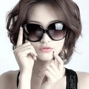 正品2014新款太阳镜女士复古大框潮流防紫外线墨镜蛤蟆镜太阳眼镜
