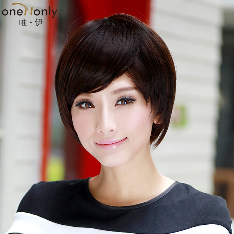 the only iraqi wig short hair for round face fluffy short wig ...