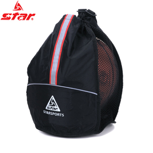 Star STAR black breathable shoulder sports bags a ball (new) side Sling XT110