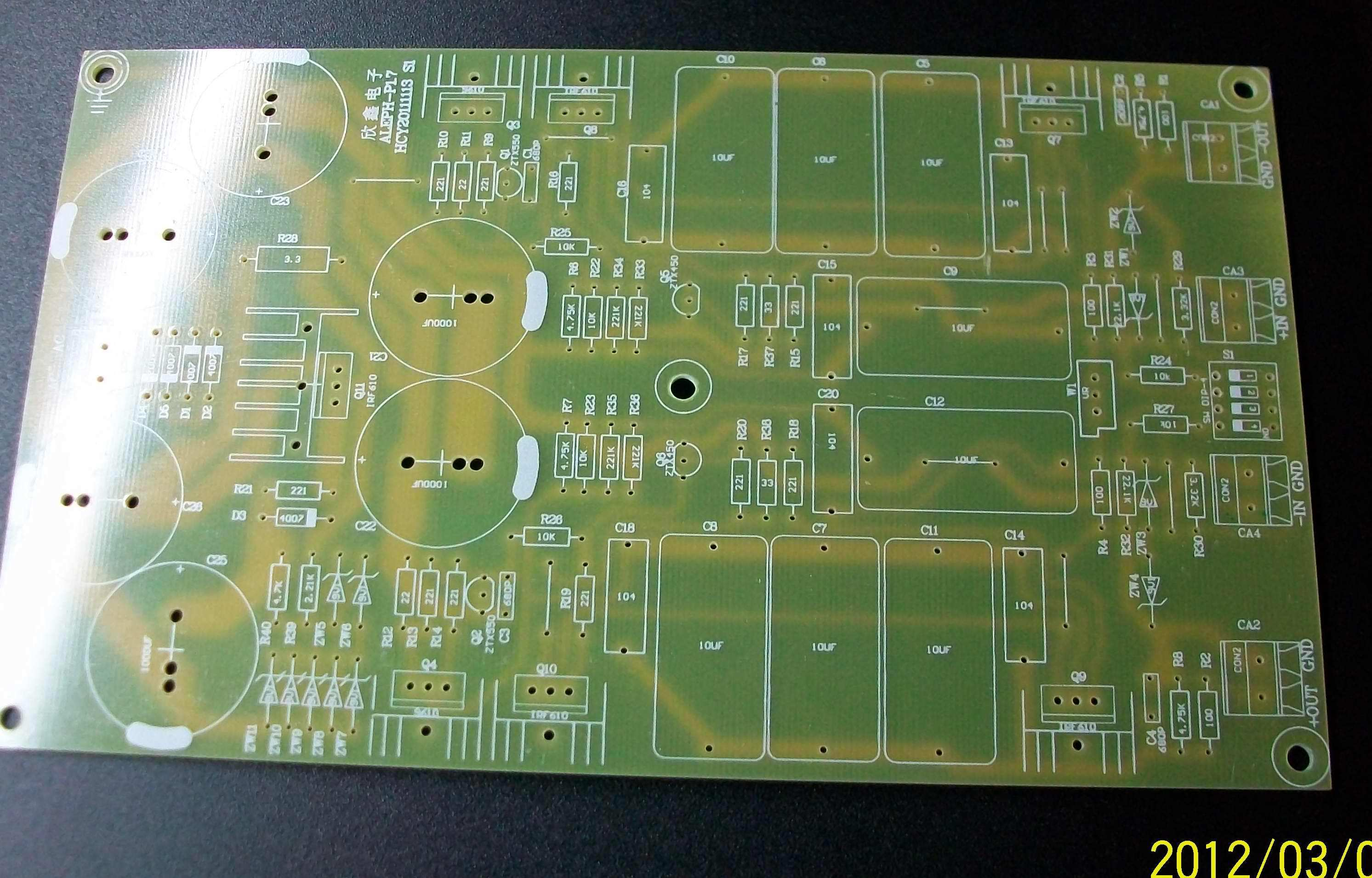 Pass Aleph P Preamp Rev 17 Fully Balanced Pcb Board Fever Alephx 100w Amplifier Construction Notes Loading Zoom