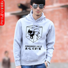 Pinot Big Bang casual Schrodinger's cat sweater Korean version of the influx of male lovers thick jacket hoodies