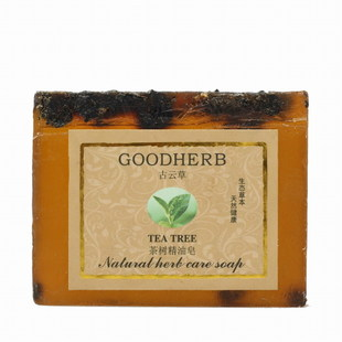 In olden days, the grass all natural tea tree oil hand SOAP oil control acne pores fade acne marks facial SOAP mild 100g
