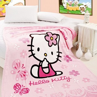 ! Cartoon coral carpet child winter bed linen children blanket variety of optional