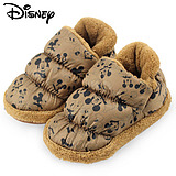 Disney Children's Children's shoes baby boy shoes shoes winter shoes plus velvet warm autumn and winter shoes