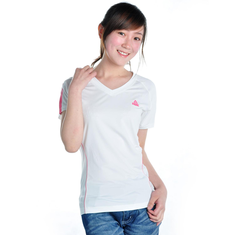 Спортивная футболка Peak f602056 2012 Стандартный Воротник-стойка 100 Суперэластичность Градиент