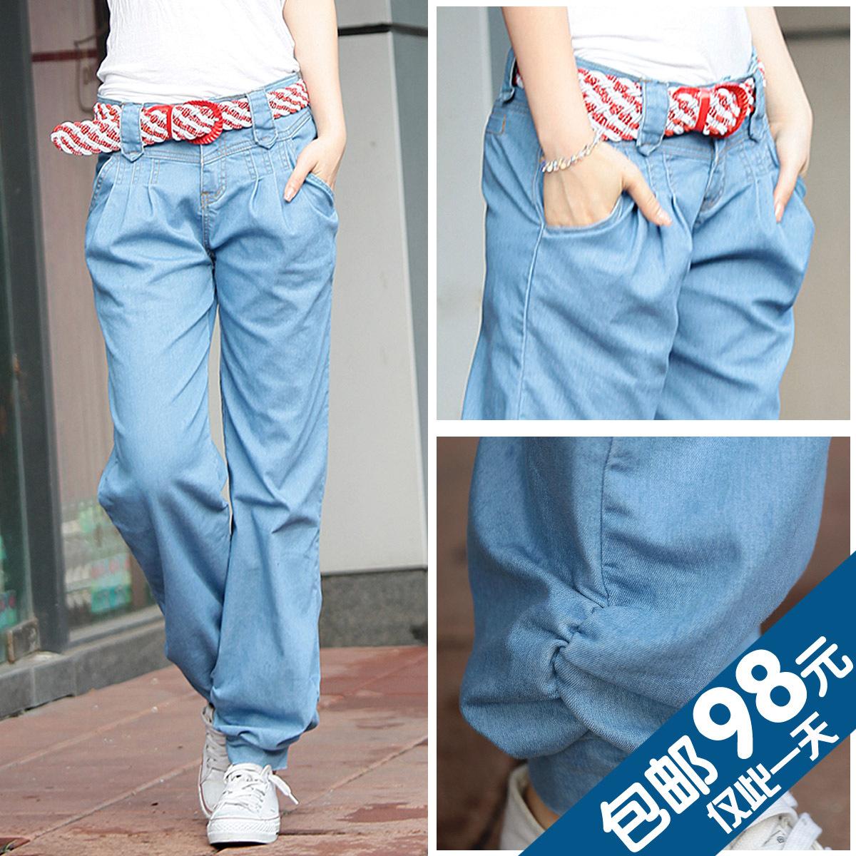 Женские брюки Abby force 8831 Длинные брюки Широкие штанины Повседневный 2013 года, Весна 2013, Осень 2013 Тонкая модель Шлифование с помощью дрожжей
