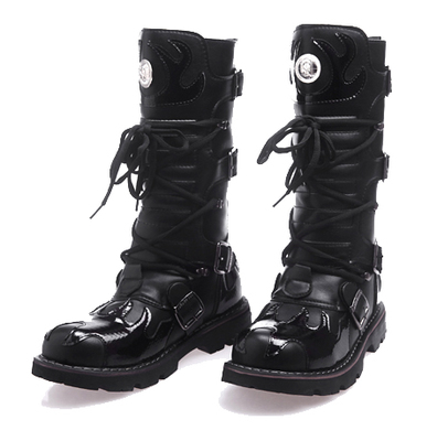 Stage han edition 2014 platform fire totems personality fashion boots high tide male wind male boots man cowboy boots