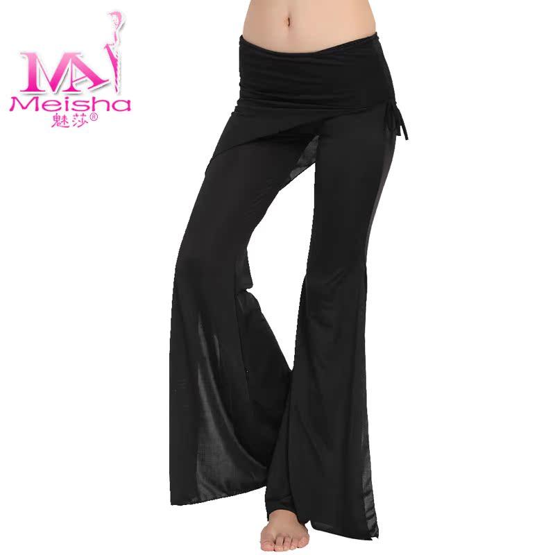 Шаровары Очарование ее брюки, одежда происходят, когда колокол упражнения для живота танцы штаны тонкие ноги племена молоко Шелкового
