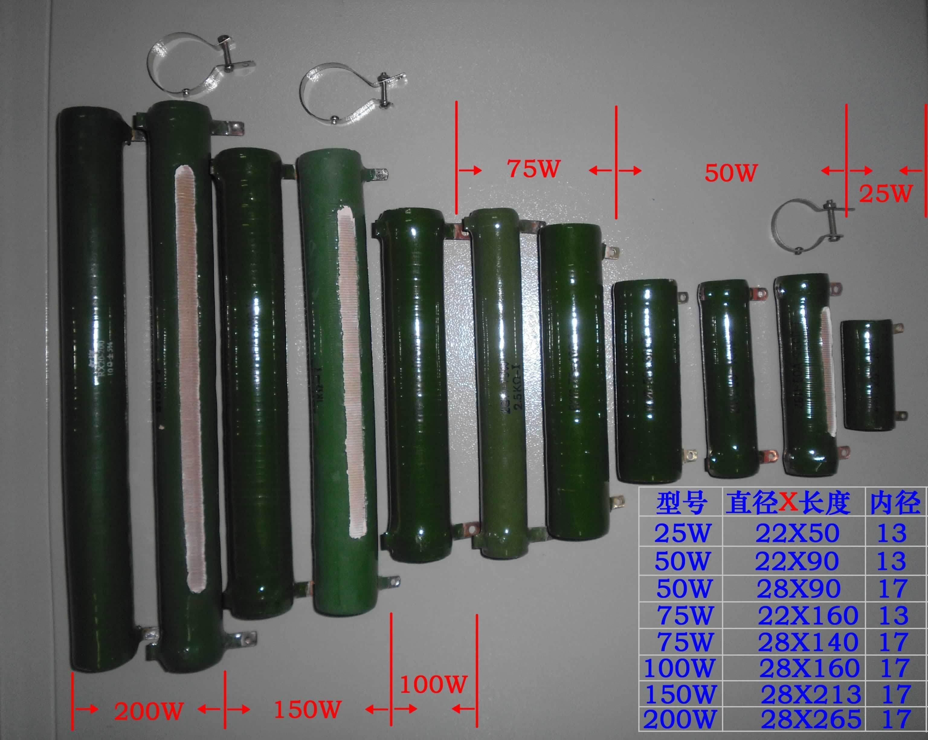 Розетка Керамические типа rxyc для алмазной репутацию ㊣ rx20 zg11-50W 51 ω