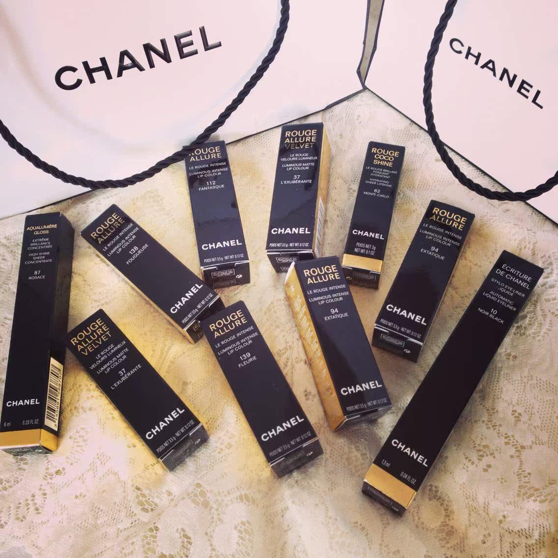 Chanel  37 42 43 44 94 136 138 139