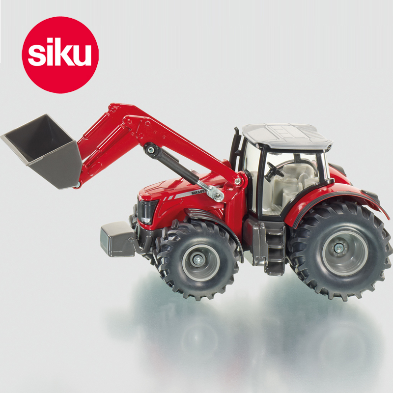 Germany SIKU tractor with front end loader U1985 alloy car model toy