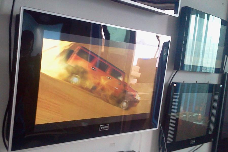 HD-плеер 26-дюймовый дисплей и акриловые (Мисс Хунань медведь заказы)