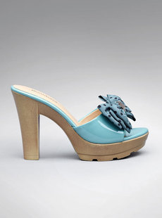 Dream Basha shoes 2012 new vitality wave bow wood cool in high heel Sandals 125,012,202