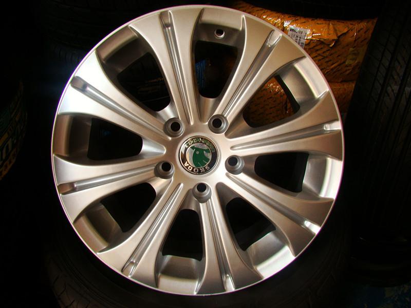 литье 16-дюймовый, оригинальные колесные диски Skoda Octavia