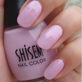 Genuine SHISEM Nail Polish Japanese Lolita Princess purple pink A106