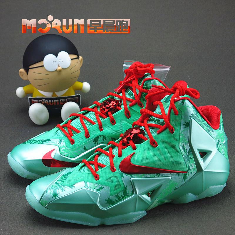 баскетбольные кроссовки Nike [Morun] Lebron XI Chrismas LBJ11 616175