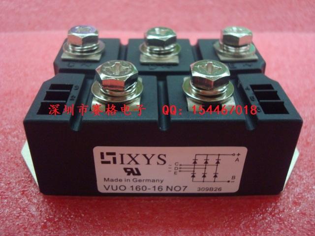 Электронные компоненты Новый немецкий IXYS 100% трехфазный выпрямитель мост vuo160