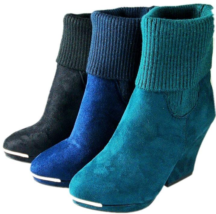 Женские сапоги Fashion catchers 602/1 2012 602-1 Осень 2012 Короткие сапоги Без застежки