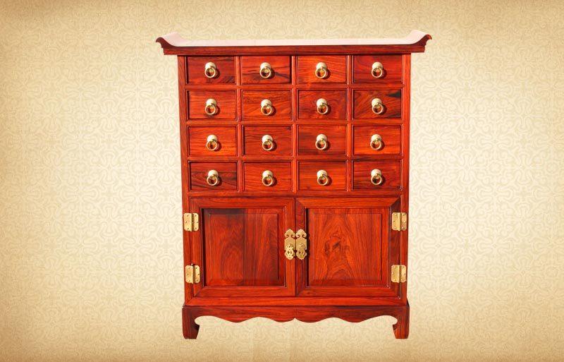 шкаф для лекарств Empire mahogany furniture