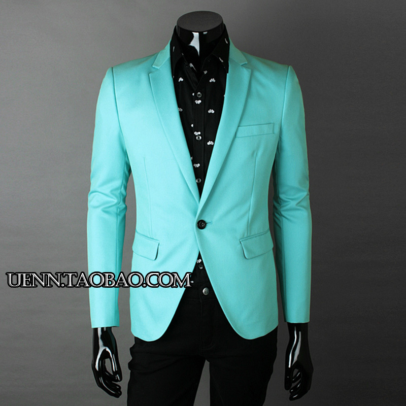 Green Suits For Men Men 39 s Casual Suit Fashion