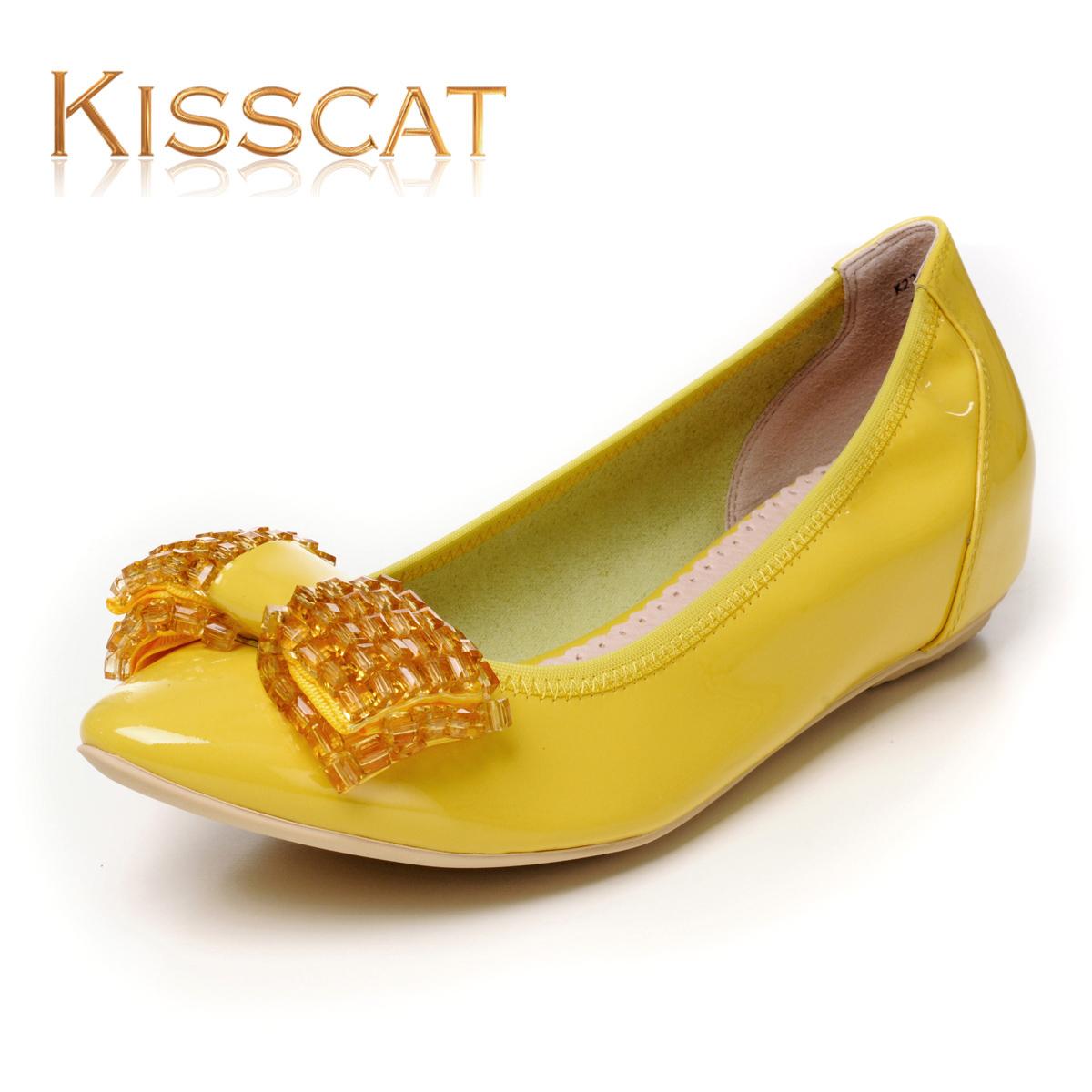 接吻猫女鞋正品